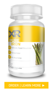 Pure Iron by XR Nutrition available at DiscoverCellularHealth.com
