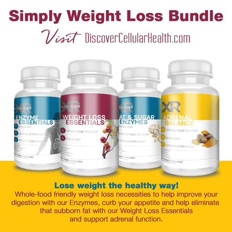 Simply Weight Loss Bundle by XR Nutrition available at DiscoverCellularHealth.com