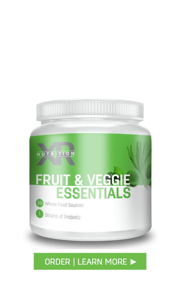 XR Nutrition Fruit & Veggie Essentials available at DiscoverCellularHealth.com