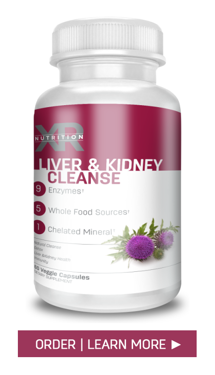 GENTLY CLEAN YOUR BODY'S FILTERS! A special formulation of essential nutrients, herbs, minerals, and enzymes to naturally eliminates toxins trapped in the liver kidneys to improve the body's filtration system. XR Nutrition Liver & Kidney Cleanse available at DiscoverCellularHealth.com