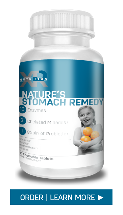 Nature's Stomach Remedy by XR Nutrition available at DiscoverCellularHealth.com