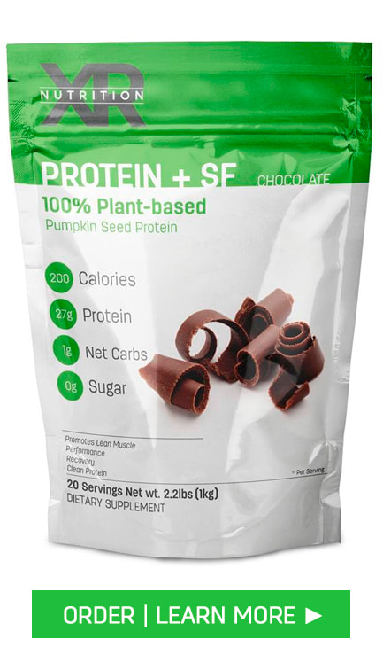 Chocolate 100% Plant-Based Protein + Superfoods Powder