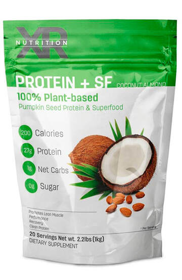 Coconut Almond 100% Plant-Based Protein + Superfoods Powder