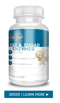 Enzymes are what break down our food so it can be absorbed or move on. Our Fat & Sugar Enzymes optimize the breakdown of fats, carbs, sugars and starches. ​Visit DiscoverCellularHealth.com to order or for more information.