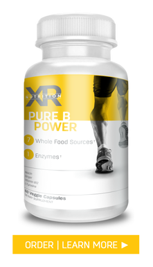 PURE B POWER: Created to help fuel the body by providing a pure source of B vitamins for power and balance. Available at DiscoverCellularHealth.com