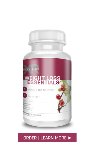 WEIGHT LOSS ESSENTIALS: A combination of 4 key elements to aid in managing and maintaining a healthy weight loss by providing an effective appetite suppressant with a blend of plant-based enzymes for proper digestion and breakdown on fats. AVAILABLE at DiscoverCellularHealth.com
